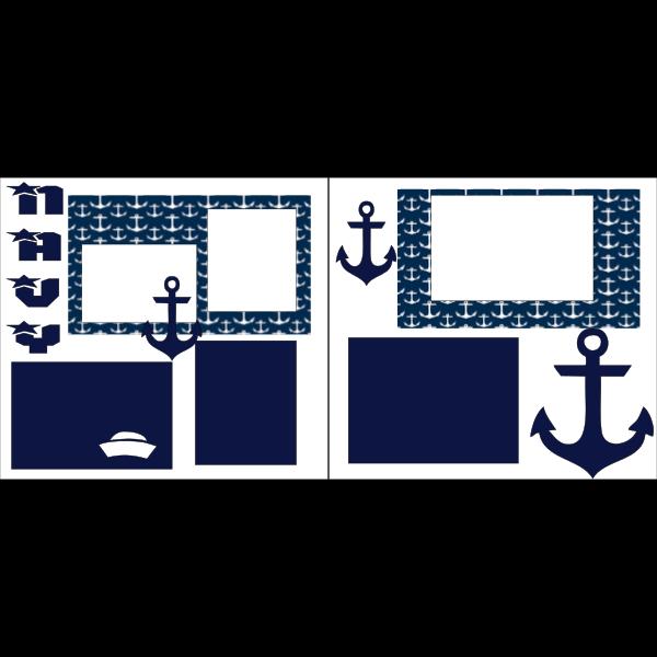 NAVY -basic page kit
