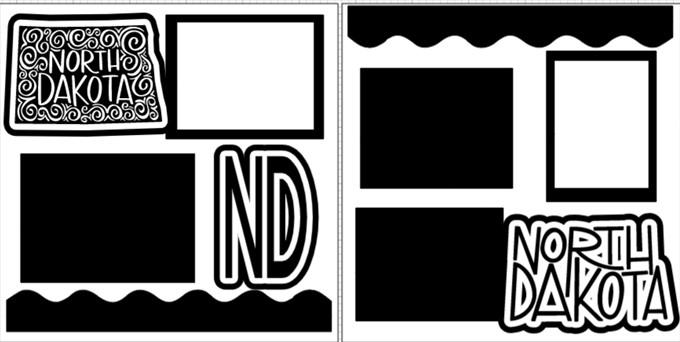 NORTH DAKOTA   -  page kit