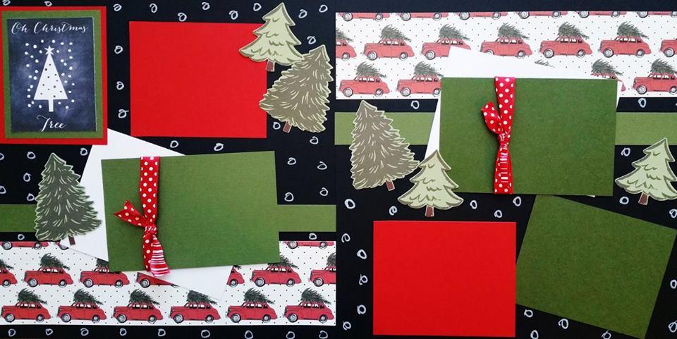 O'CHRISTMAS TREE PAGE KIT