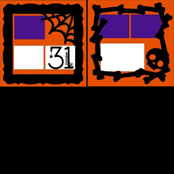 OCTOBER 31ST (HALLOWEEN)   -basic page kit
