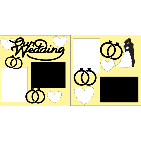 OUR WEDDING --- -basic page kit