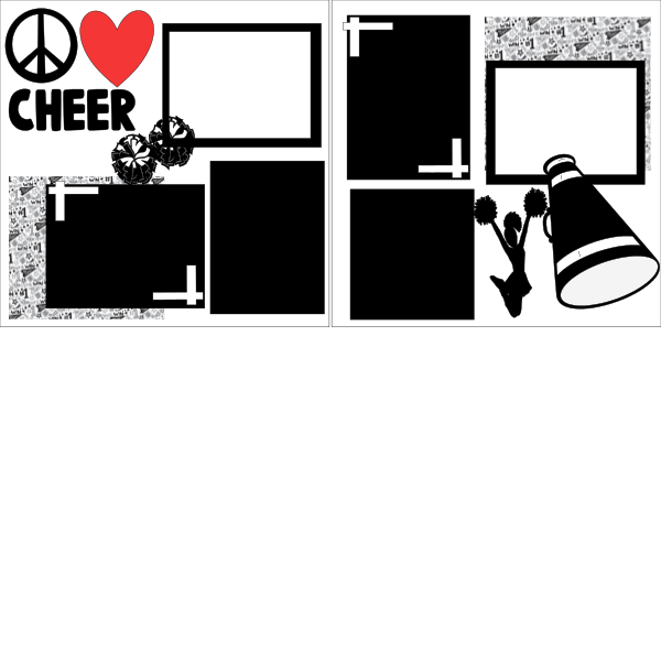 Peace Love and Cheer   Page Kit