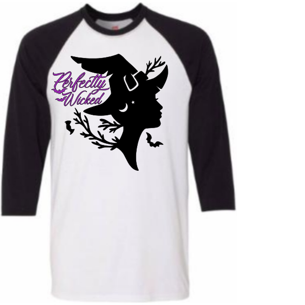 PERFECTLY WICKED RAGLAN