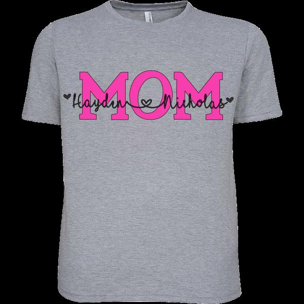 PERSONALIZED MOM, GRANDMA, MEME, MAMA SHIRTS