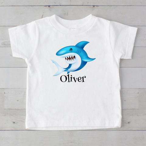Shark Personalized Graphic T-Shirt