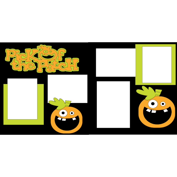 PICK OF THE PATCH PUMPKIN PATCH  -basic page kit