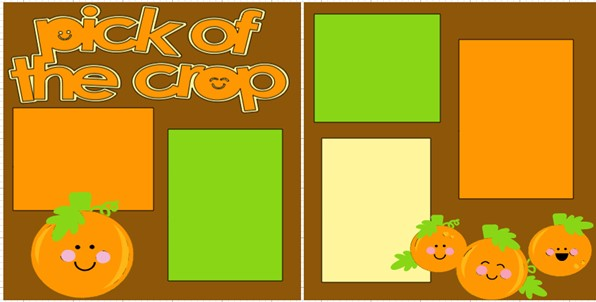 PICK OF THE CROP  -  page kit