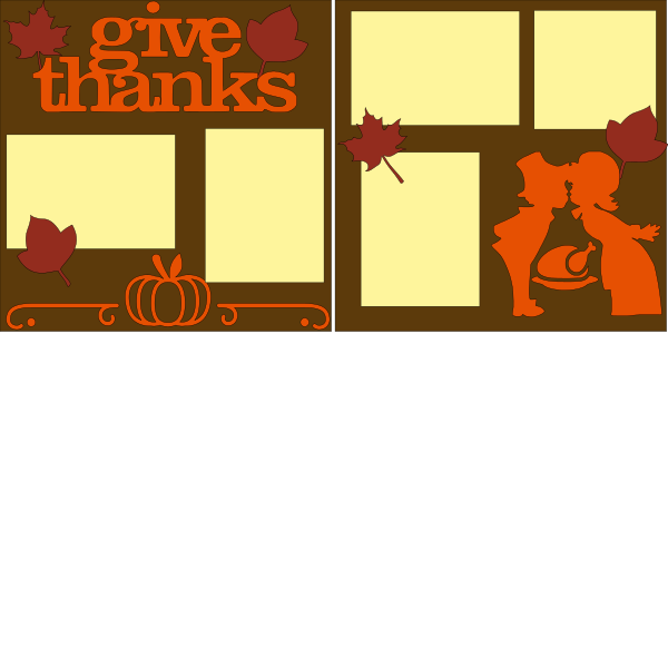 GIVE THANKS (PILGRIMS)    --   page kit