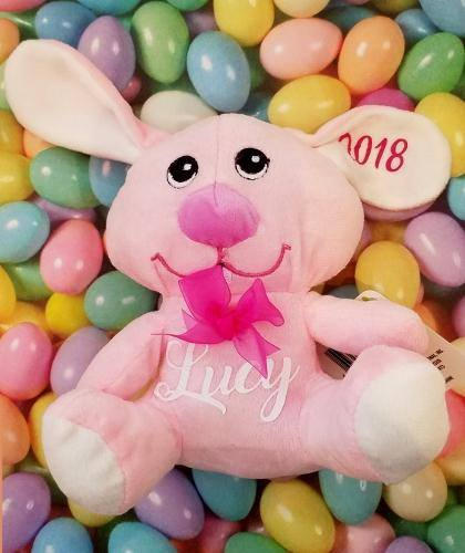 PERSONALIZED BUNNY (PINK)