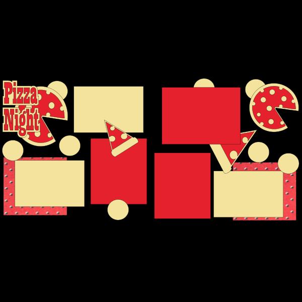 PIZZA NIGHT  -basic page kit