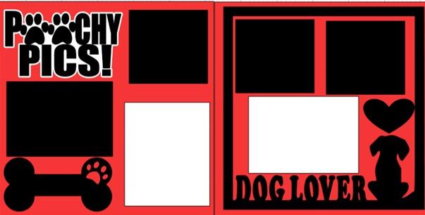POOCHY PICS (DOG)   -  page kit