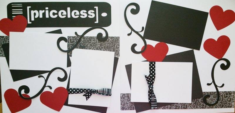 PRICELESS  page kit