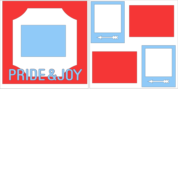 PRIDE AND JOY   -basic page kit