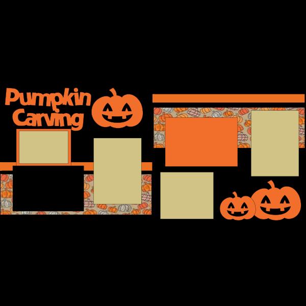 pumpkin carving --- basic page kit