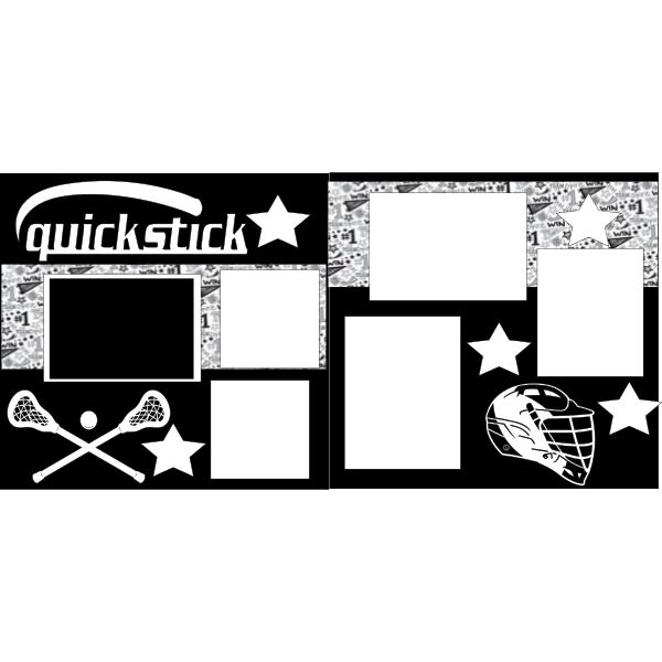 LACROSSE QUICKSTICK  -basic page kit