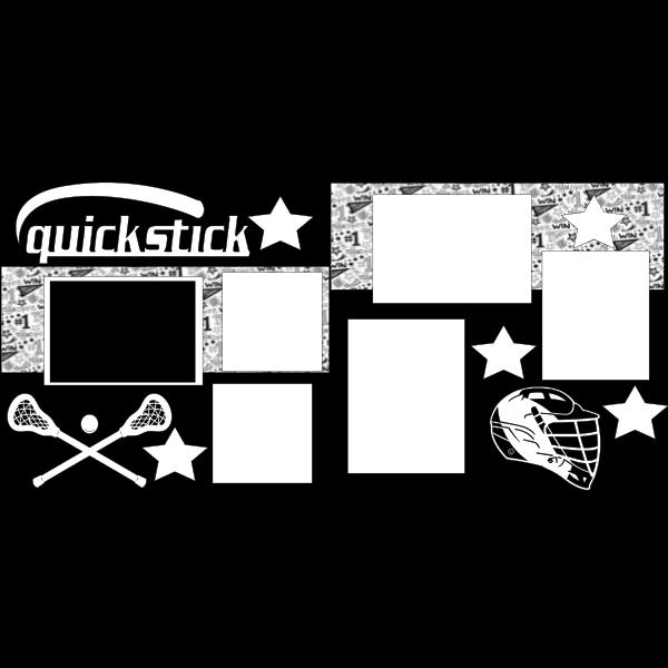 LACROSSE QUICKSTICK  -basic page kit