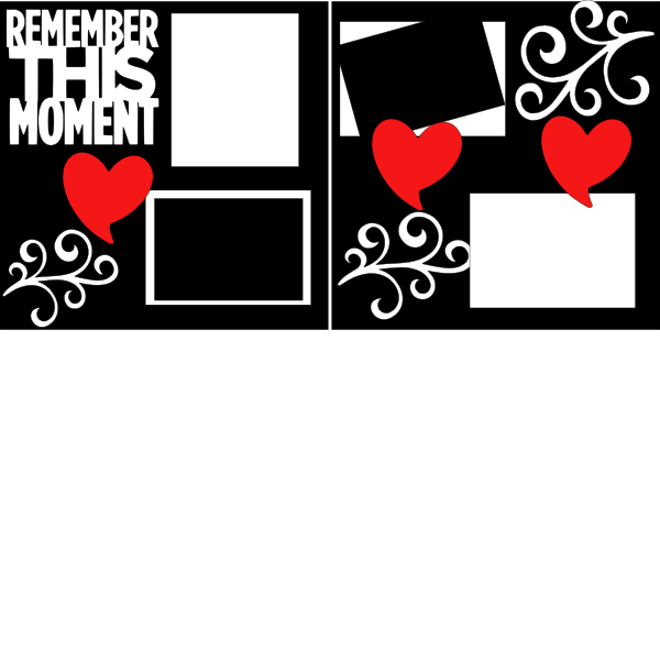 REMEMBER THIS MOMENT   --   page kit