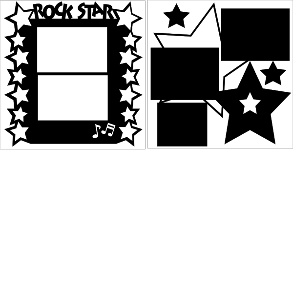 ROCK STAR Page Kit