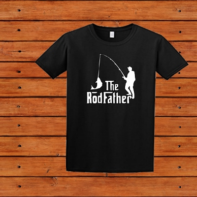 T-SHIRT THE RODFATHER FISHING
