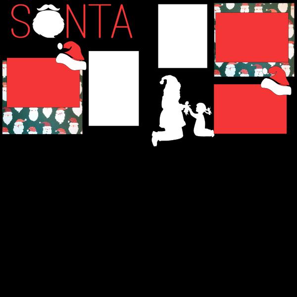 SANTA GIRL VERSION -basic page kit