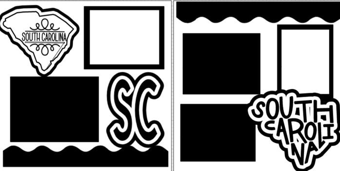 SOUTH CAROLINA   -  page kit