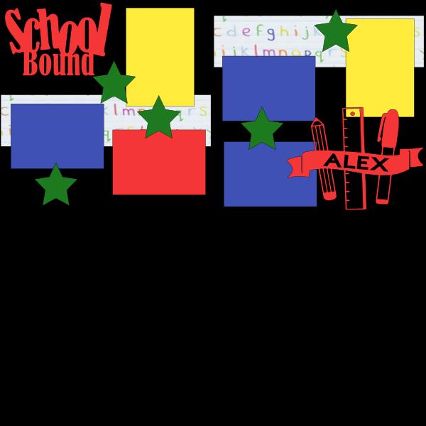 SCHOOL BOUND  --   page kit