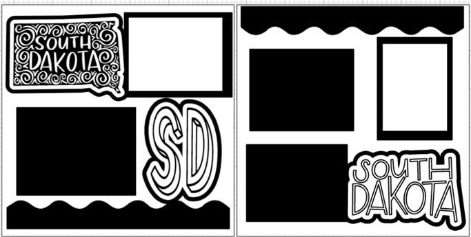 SOUTH DAKOTA   -  page kit