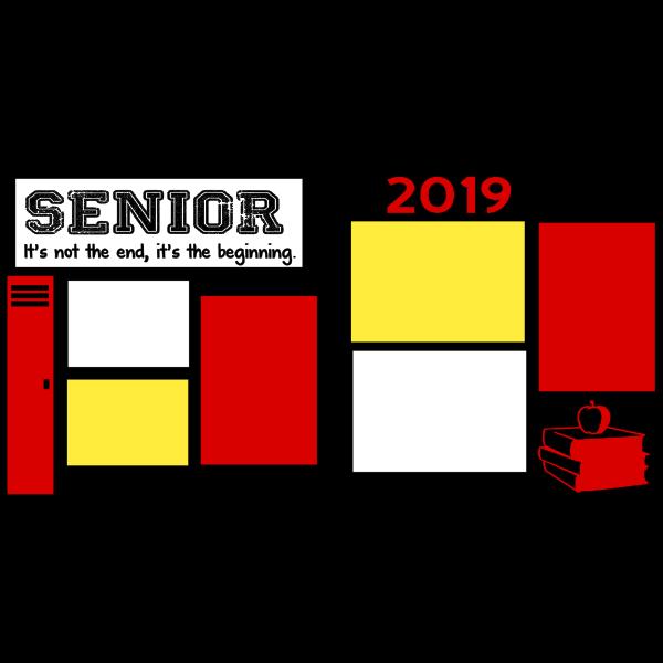 SENIOR 2019  - PAGE KIT