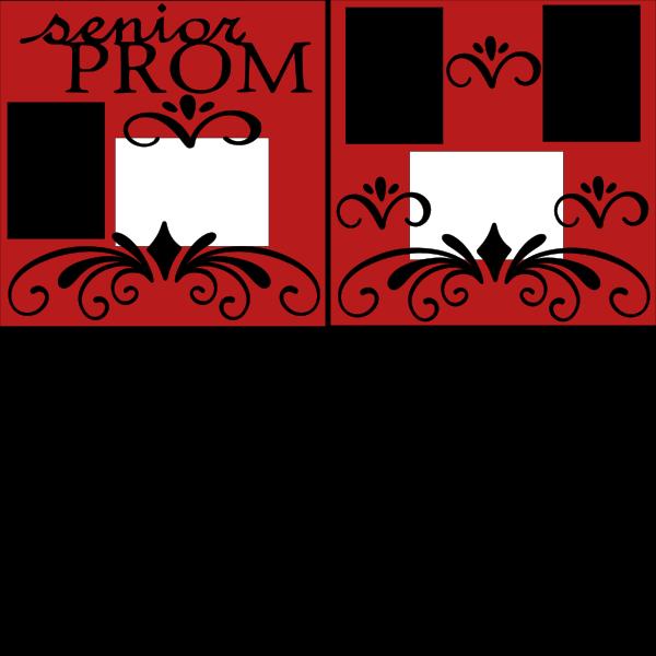 SENIOR PROM  -basic page kit