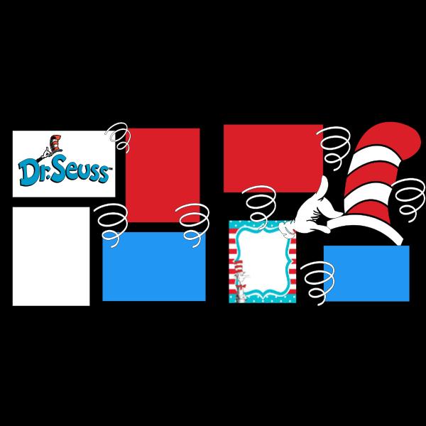 CELEBRATE DR. SEUSS  -basic page kit