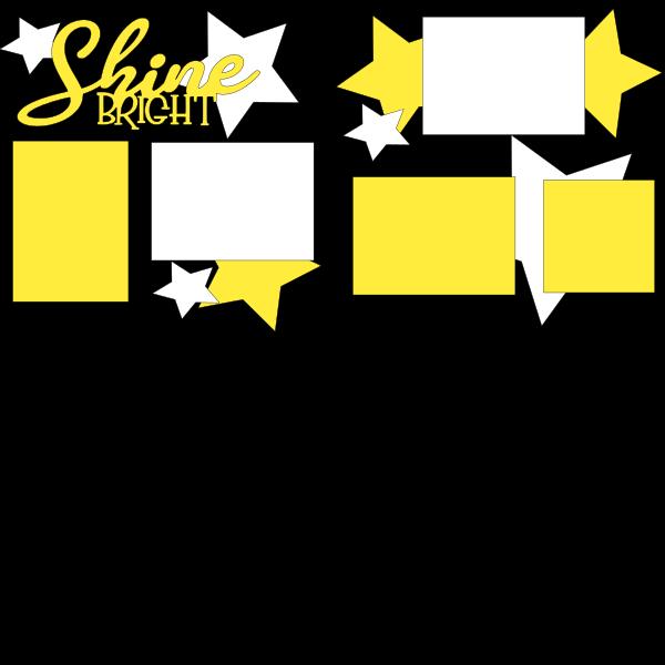 SHINE bright  -basic page kit