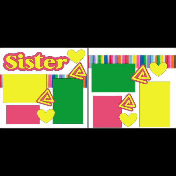 SISTER@  -basic page kit