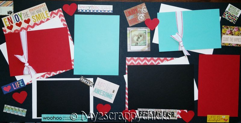 ENJOY THE THINGS THAT MAKE YOU SMILE   page kit