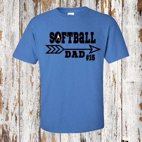 PERSONALIZED  SOFTBALL DAD