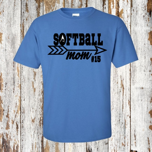 SOFTBALL MOM PERSONALIZE