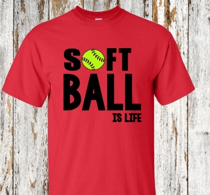 SOFTBALL IS LIFE SHIRT