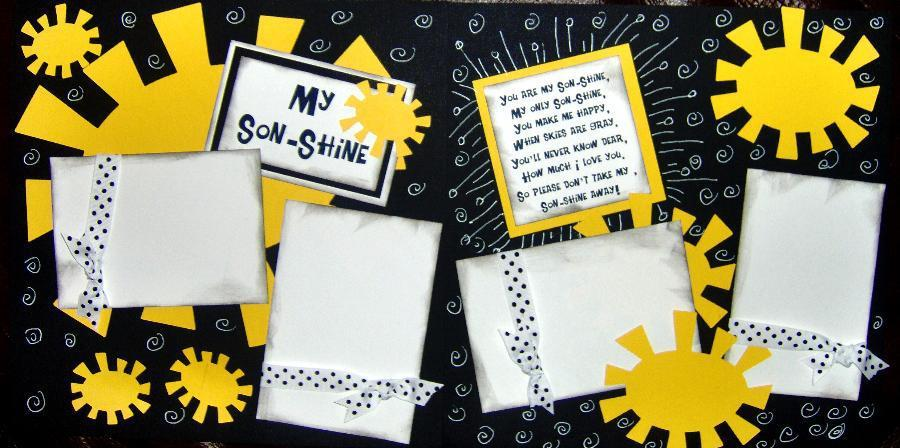 MY SON-SHINE  ***   page kit