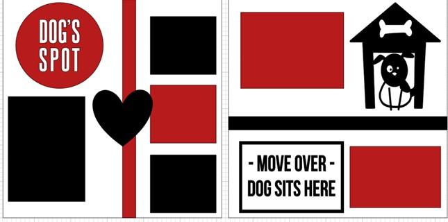 Dogs Spot-  page kit