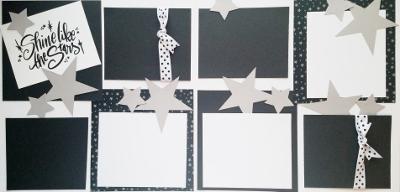 SHINE LIKE THE STARS  page kit