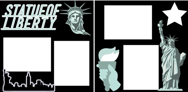 STATUE OF LIBERTY  -  page kit