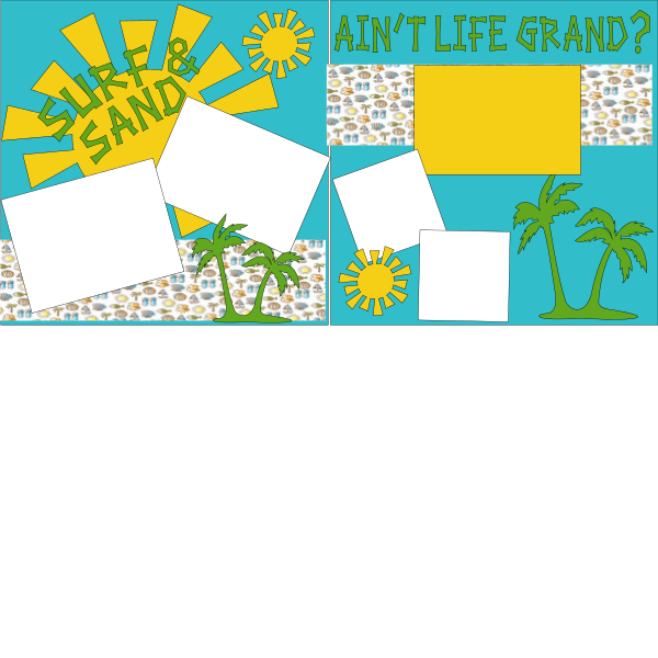 Surf and Sand 2 page kit