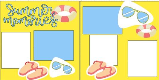 SUMMER MEMORIES  -  page kit