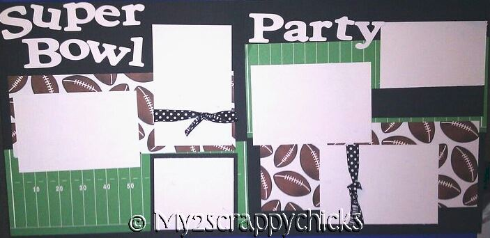 SUPER BOWL PARTY 3  page kit