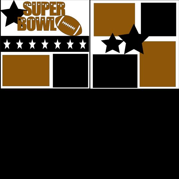 SUPER BOWL - Page Kit
