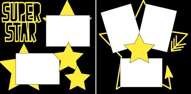 SUPER STAR   -  page kit
