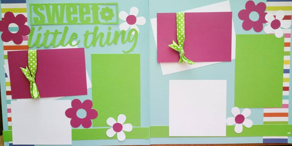 sweet little thing  page kit
