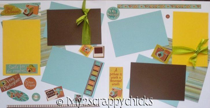 SAY CHEESE - TAKING PHOTOS -basic page kit