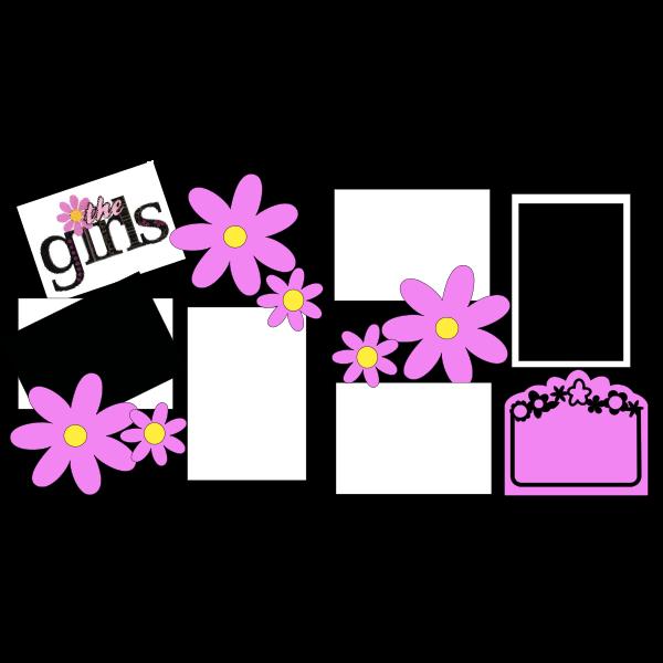 THE GIRLS  -basic page kit
