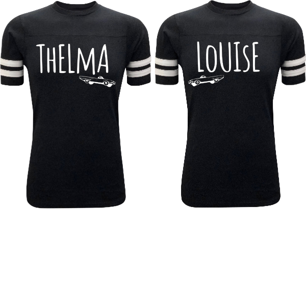 THELMA AND LOUISE SHORT SLEEVE RAGLAN