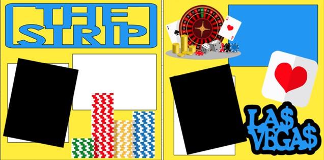 THE STRIP LAS VEGAS  -  page kit